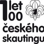 logo 100let českého skautingu